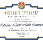 LA County D.A. Commendation